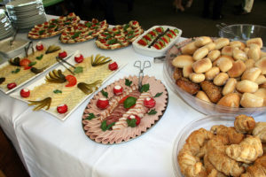 Catering mit Bufftet