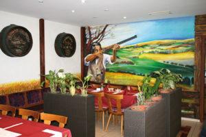 Gastraum Gaststätte Schützenhaus
