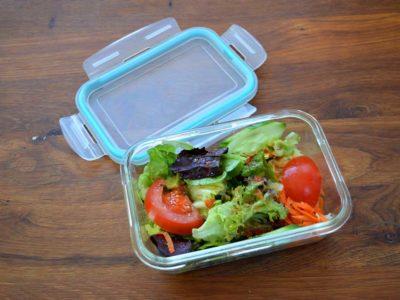 Salat in unserer kleinen Mehrwegbox